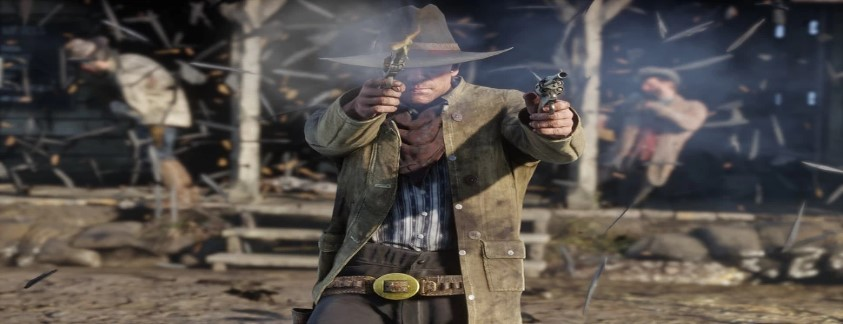 Aksi Dalam Game Red Dead Redemption 2
